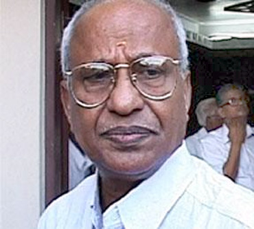 Former Union minister and senior BJP leader O Rajagopal