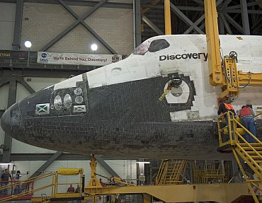 Shuttle Discovery's facts and feats