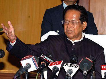 Chief Minister Tarun Gogoi