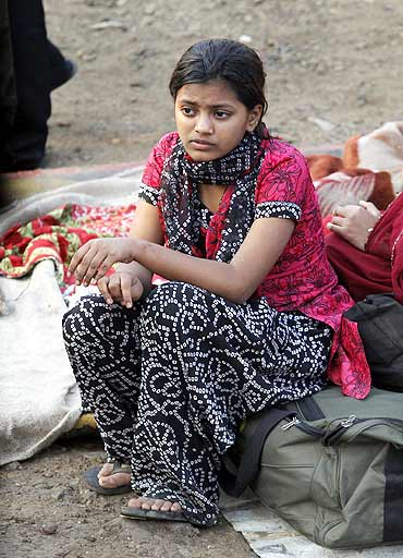Rubina Ali's shanty was among thousands of other houses gutted down by the fire