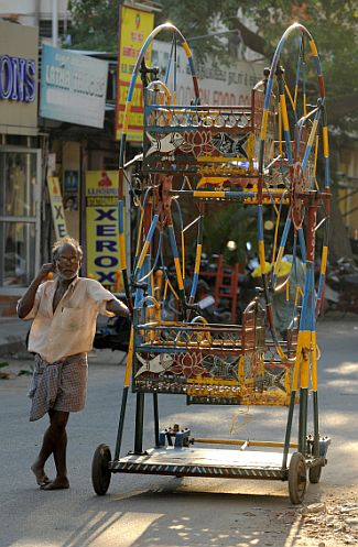A street scene in Chennai. Image used for representational purposes.