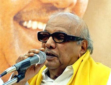 DMK supremo M Karunanidhi