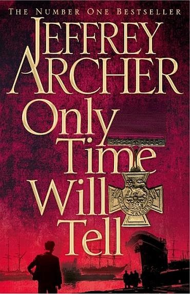 The cover of Jeffrey Archer's latest book from the Clifton Chronicles series