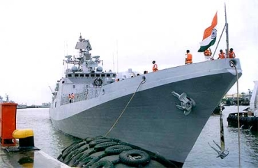 Indian Navy's warship INS Talwar