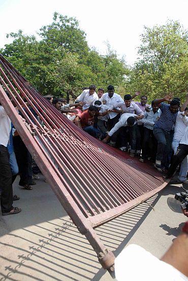 When Telangana fury singed Hyderabad