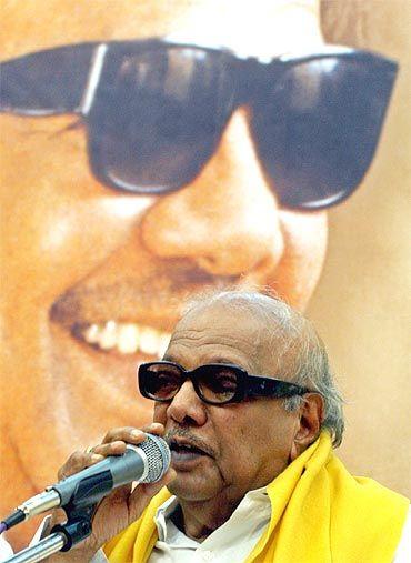 Tamil Nadu CM M Karunanidhi
