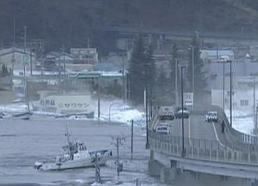 Catastrophic tsunami wrecks havoc in Japan