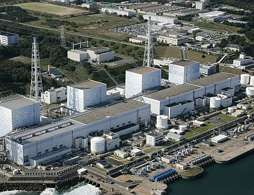 The Fukushima nuclear plant in Fukushima prefecture in northeastern Japan is pictured in a 2008 file photo