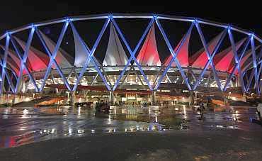 The Jawaharlal Nehru Stadium