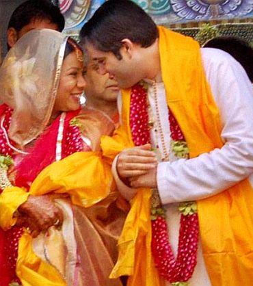 Varun with Yamini