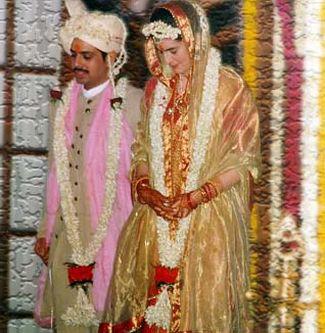 Robert Vadhra with Priyanka