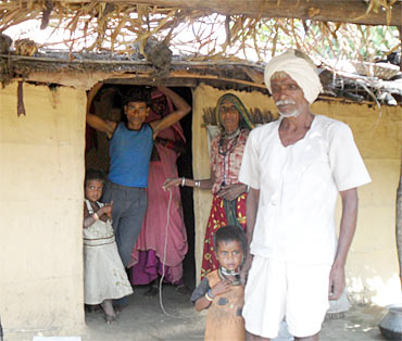 A tribal family, which has been fighting a case for their land for a decade