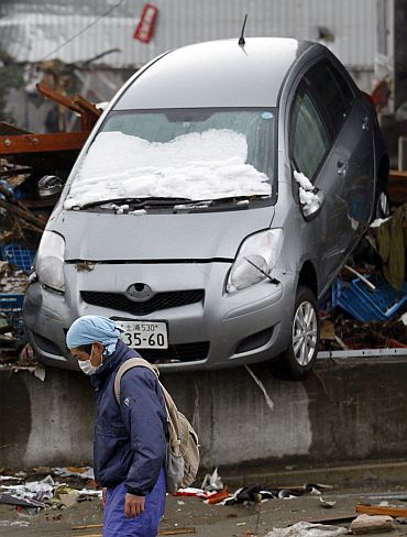 Snow -- Just what Japan didn't want now