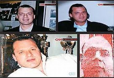 Video grabs of American Lashkar operative David Headley