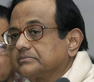 Union Home Minister P Chidambaram