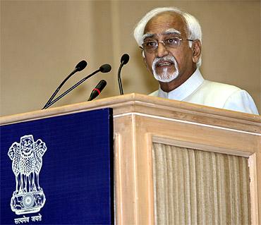 Rajya Sabha Chairman Hamid Ansari