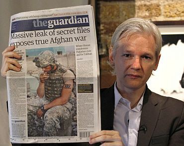 WikiLeaks editor-in-chief Julian Assange