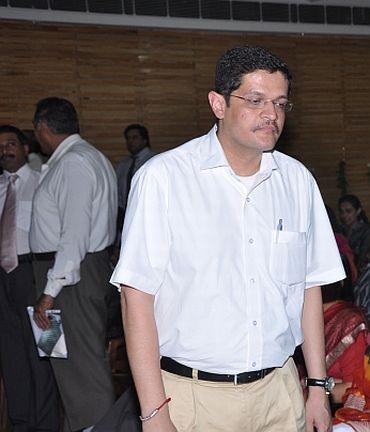 Nachiketa Kapur, described as Cong MP Satish Sharma's political aide