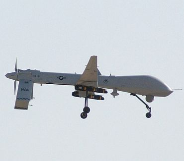 A US drone in action