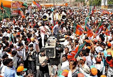 A BJP rally