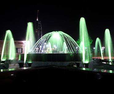 The musical fountain