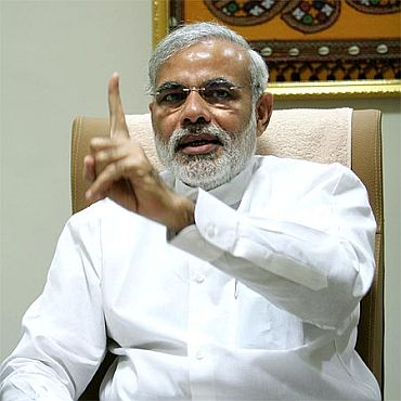 Corrupt UPA government is in TROUBLE: Modi