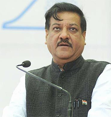 Maharashtra Chief Minister Prithviraj Chavan