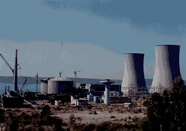 The Rajasthan atomic power station in Rawatbhata