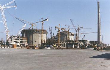 The Tarapur atomic power station in Maharashtra