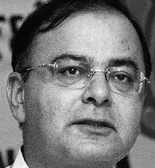 Bharatiya Janata Party leader Arun Jaitley