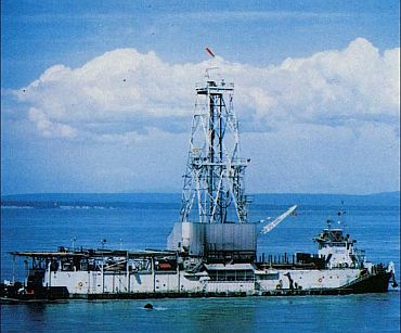 File photo of Project Mohole of the 1960s