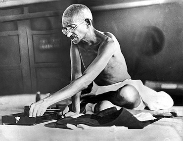 Father of the Nation Mahatma Gandhi