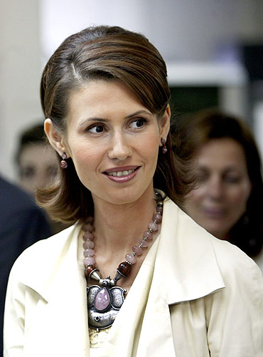 Asmaa al-Assad, wife of the Syrian President Bashar al-Assad