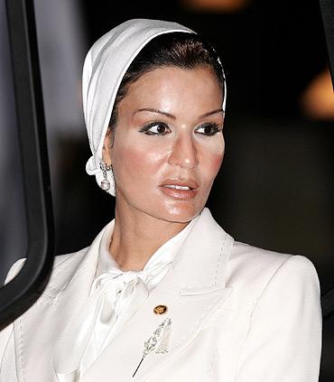Sheikha Moza Bin Nasir Al-Musnad of Qatar