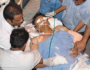 Akbaruddin Owaisi being shifted to the Care hospital