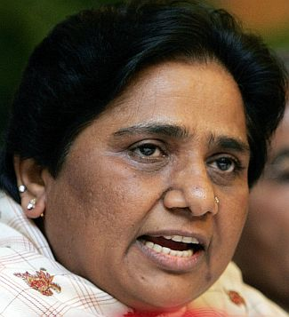 'What has Mayawati done to curb corruption?'