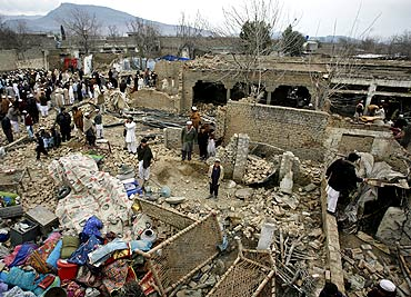After a suicide bomb attack on March 3 in Pakistan's Khyber-Pakhtoonkhwa Province, where Osama was reportedly killed. The Shias among the Pashtuns, particularly in this area, had no interest in protecting the Al Qaeda leader