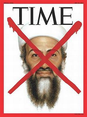 The cover of a special edition of TIME magazine devoted to the death of Osama bin Laden is seen in this image released by TIME Inc. in New York May 2