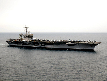 Aircraft carrier Carl Vinson transported Osama's body