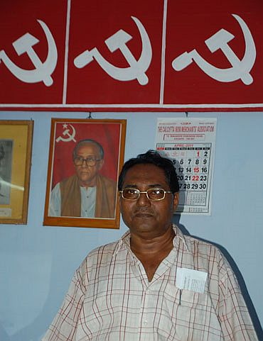 Local CPI-M leader Ramendra Nath Kar