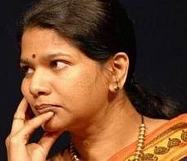 MP Kanimozhi