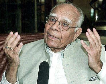 Senior advocate Ram Jethmalani