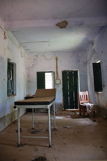 The primary health centre at Odolchua, a Naxal-affected area in West Bengal