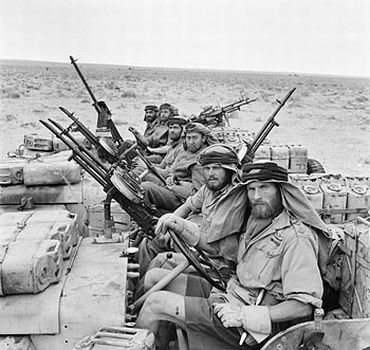 British Special Air Service serving in the North African Campaign during the Second World War
