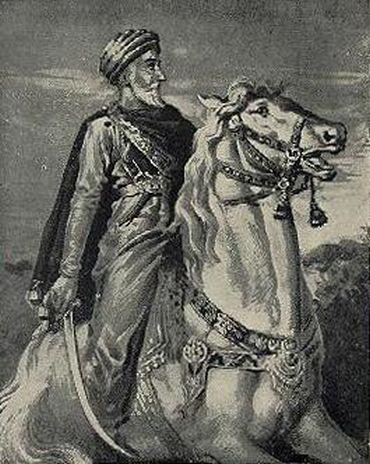 Artistic rendering of Hassan-i Sabbah