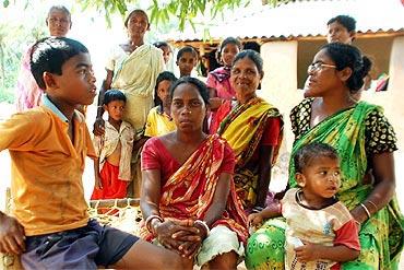 The women of Banshber village