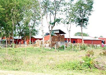 The CRPF camp at Kaatapahari