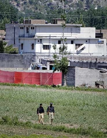 The mansion in Abbottabad where Osama was hiding