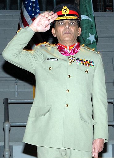 Pakistan Army Chief Ashfaq Kayani