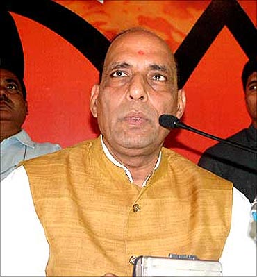 BJP leader Rajnath Singh